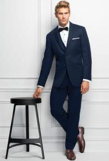 michael kors navy wedding suit