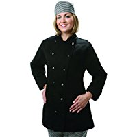 women's fitted chef coat