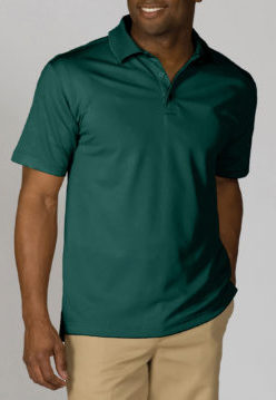 Men's hunter polo shirt