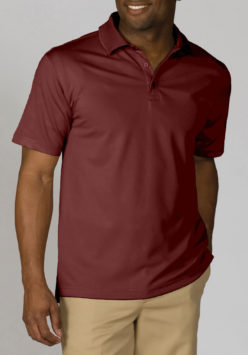 men's burgundy polo shirt